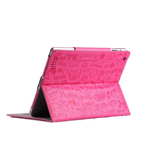 Pink ipad cover